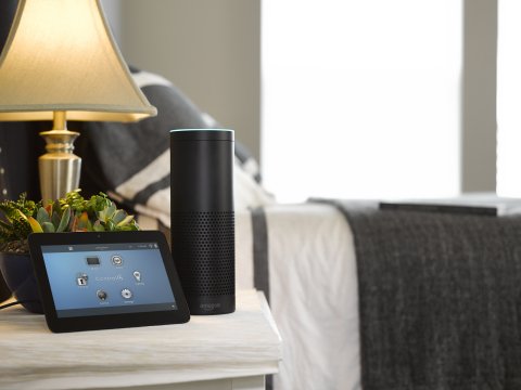 Control4 with Amazon Echo (Photo: Business Wire)