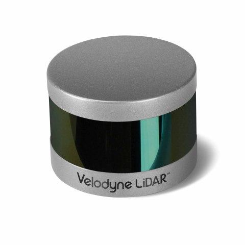 Velodyne LiDAR Puck Hi-Res™ sensor (Photo: Business Wire)
