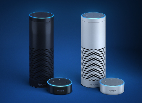 Alexa, Echo, and Echo Dot now available in the UK and Germany (Photo: Business Wire)