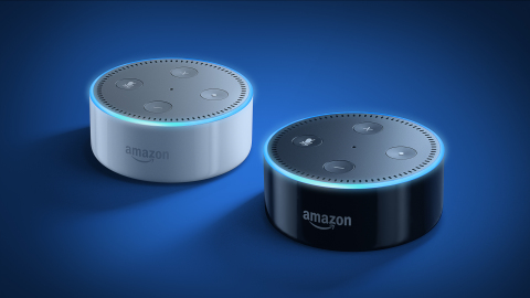 The all-new Echo Dot is just $49.99 (Photo: Business Wire)