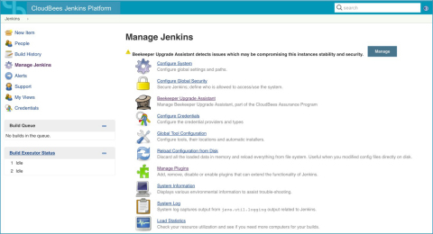 The CloudBees Beekeeper Upgrade Assistant identifies conflicts and recommends actions (Graphic: Business Wire)