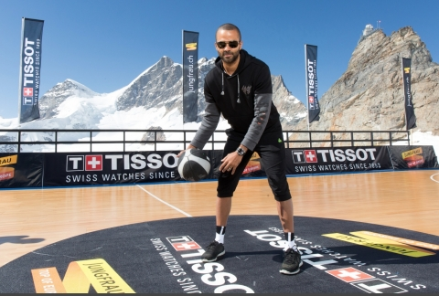 Faced with the fresh yet thin air of the mountain, Tony Parker did not sway. (Photo: Business Wire)