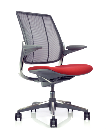 Humanscale's Diffrient Smart task chair - a certified Living Product (Photo: Business Wire)