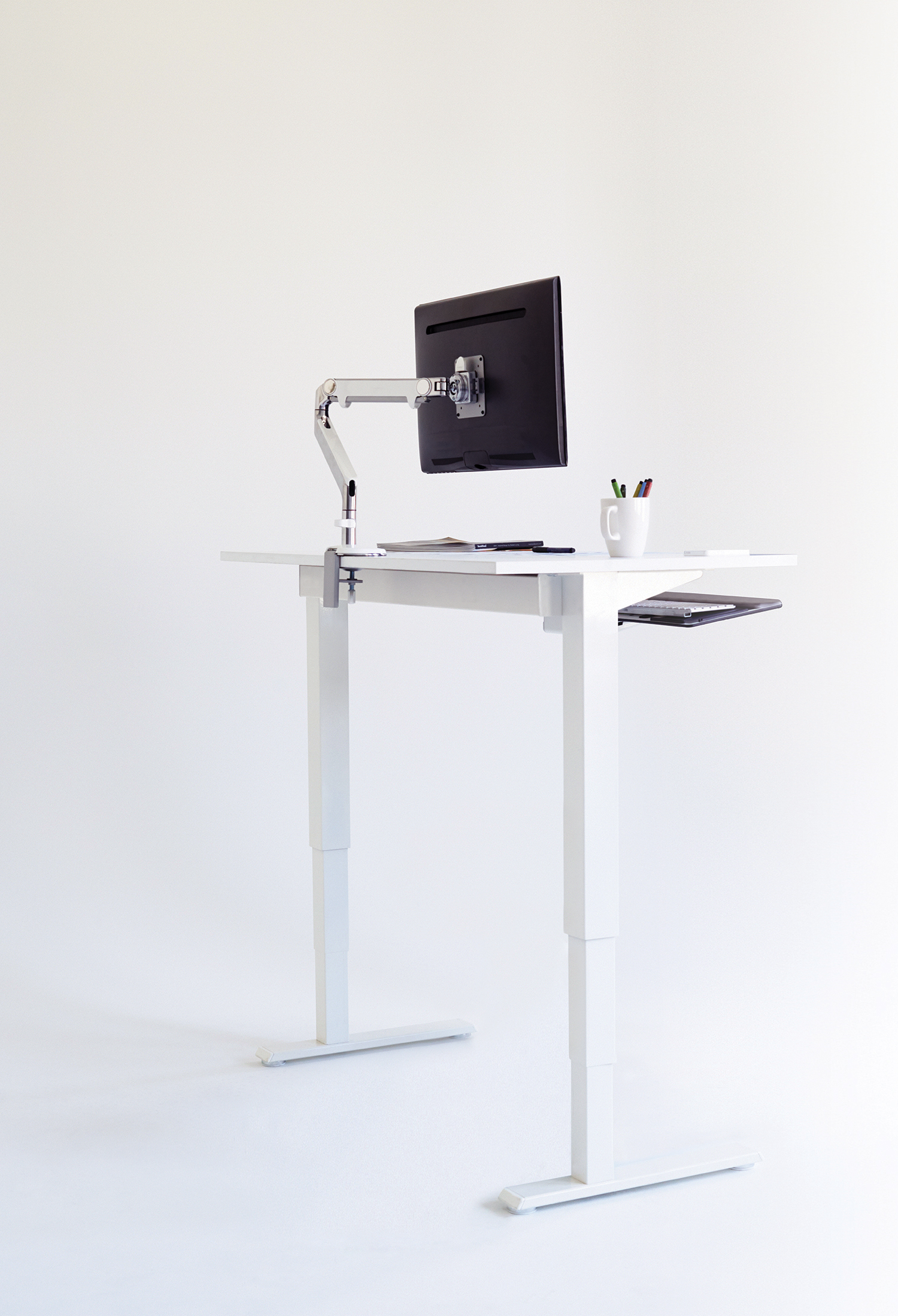 Humanscale's Diffrient Float Table - a certified Living Product (Photo: Business Wire)