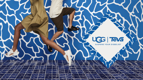 Teva and UGG Unveil Hybrid Collection (Photo: Business Wire)