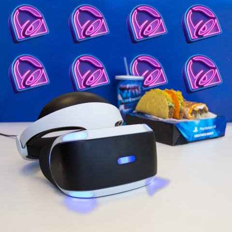 Taco Bell is teaming up with Sony Interactive Entertainment to give away PlayStation®VR before it's available in stores. (Photo: Business Wire)