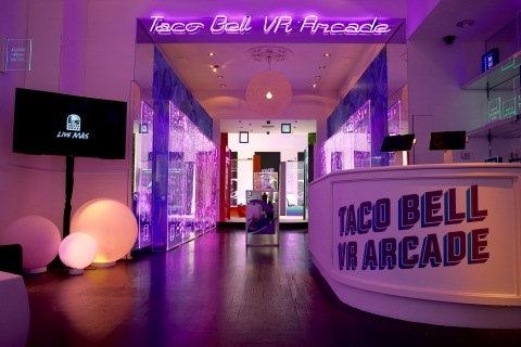 Taco Bell's first pop-up is located at 79 Greene Street in New York's SoHo neighborhood and will run from Thursday, Sept. 15 to Friday, Sept. 16. (Photo: Business Wire)