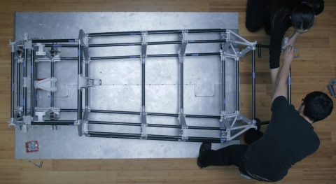 Divergent 3D combines 3D printed metal joints called NODEs™ with carbon fiber structural materials, resulting in a lightweight, industrial strength chassis that can be assembled in minutes. (Photo: Business Wire)