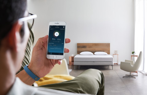 "The ""it bed"" by Sleep Number is packed full of technology for smarter, connected sleep. It can be ad ..."