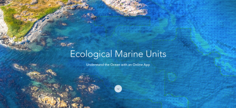 Esri has launched Ecological Marine Unit (EMU) Explorer, a web application that includes a statistic ...