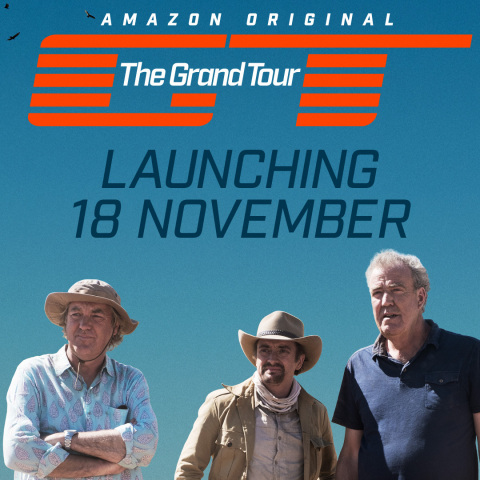 The Grand Tour launches Friday, November 18 (Photo: Business Wire)