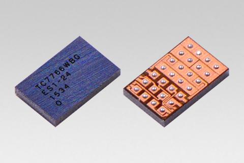 "Toshiba: industry's first Qi v1.2 certified 15W wireless power receiver IC ""TC7766WBG"" (Photo: Business Wire)"