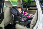 The new 4moms self-installing car seat takes the guesswork out of the installation process, and gives parents peace of mind. (Photo: Business Wire)