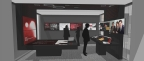 Rendering - Red Hat Executive Briefing Center in Boston. (Image courtesy of Red Hat and Downstream)