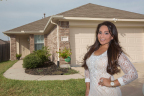 Houston-area resident Wendy Mendez received a $7,000 Homebuyer Equity Leverage Partnership grant from Whitney Bank and the Federal Home Loan Bank of Dallas, which she used as a down payment for her first home. (Photo: Business Wire)