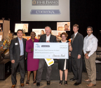 Representatives of Comerica Bank and the Federal Home Loan Bank of Dallas presented a $16,000 grant to Austin's Economic Business Growth Incubator on September 16, 2016. The funds will be used to cover operational expenses for the remainder of the year. (Photo: Business Wire)