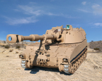 BAE Systems will provide 32 upgraded M109A5+ self-propelled howitzers to the Brazilian Army under a new U.S. Foreign Military Sales contract. (Photo: BAE Systems)