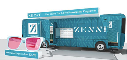 c4ad0d6a0e Zenni Optical Hits the Road with U.S. College Tour