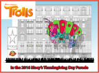 DreamWorks Trolls will debut a multi-character giant balloon in the 90th Anniversary Macy's Thanksgiving Day Parade, Thursday, Nov. 24.