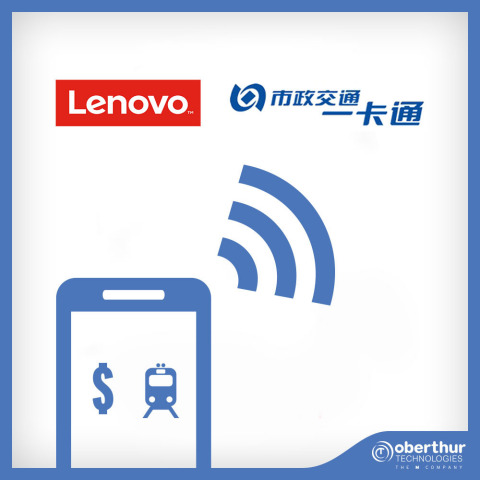 Lenovo and BMCA launch contactless mobile transport service in China with OT (Photo: Business Wire)
