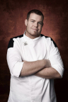 """Andrew Pearce, executive chef at Hugo's Frog Bar & Chop House at SugarHouse Casino, will compete on """"Hell's Kitchen"""" beginning Sept. 23. (Photo Courtesy: Fox)"""