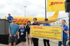 DHL presents a check for $68,000 to Special Olympics Kentucky and its programs for local athletes on Saturday, September 17. (Photo: Business Wire)