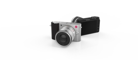 The YI M1 Mirrorless Digital Camera, launching soon, is the world's most connected mirrorless camera. (Photo: Business Wire)