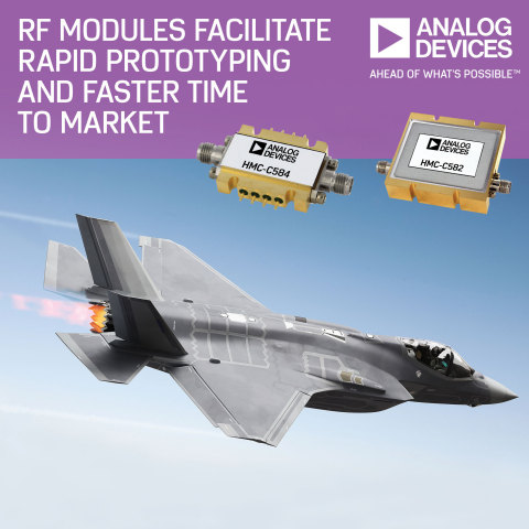ADI Expands Portfolio of High Performance RF and Microwave Standard Modules to Facilitate Rapid Prot ...