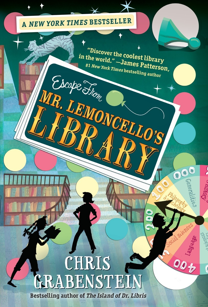 Nickelodeon Brings to Life Escape from Mr. Lemoncello\'s Library, an ...