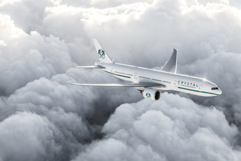 Crystal AirCruises will fly 14-, 21- and 28-day itineraries around the world. (Photo: Business Wire)
