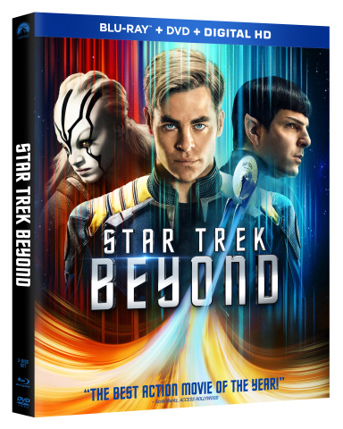 From Director Justin Lin & Producer J.J. Abrams Comes One of the Best-Reviewed Action Movies of the Year, STAR TREK BEYOND, on 4K Ultra HD™, Blu-ray™ and Blu-ray 3D™ Combo Packs November 1, 2016 and on Digital HD October 4, 2016 (Photo: Business Wire)