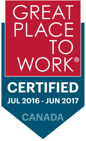 TransCore Link Logistics Certified Great Workplace (Graphic: Business Wire)