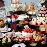 """Keio Plaza Hotel Tokyo offers """"Alice in Wonderland"""" themed sweets buffet from October, which includes fruit sandwiches patterned after the various suits of playing cards, cream puffs in the image of the twins Tweedle Dee and Tweedle Dum who appear as characters in the novel, and a total of 30 different beautiful and delicious desserts. (Photo: Business Wire)"""