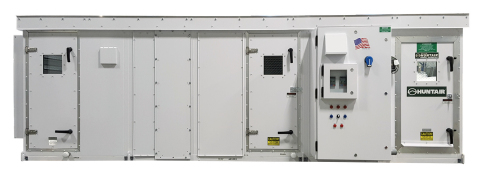 The Huntair brand Gen II air handler for mid-sized indoor or outdoor air handling systems. (Photo: Business Wire)