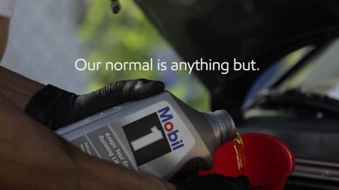 """ExxonMobil is asking fans of the Mobil 1 brand to share their """"normal"""" drive stories on the Mobil 1 Twitter and Facebook pages. By using the hashtags #Mobil1Performance and #Sweepstakes, consumers will be automatically entered for a chance to win Mobil 1 products. (Photo: Business Wire)"""