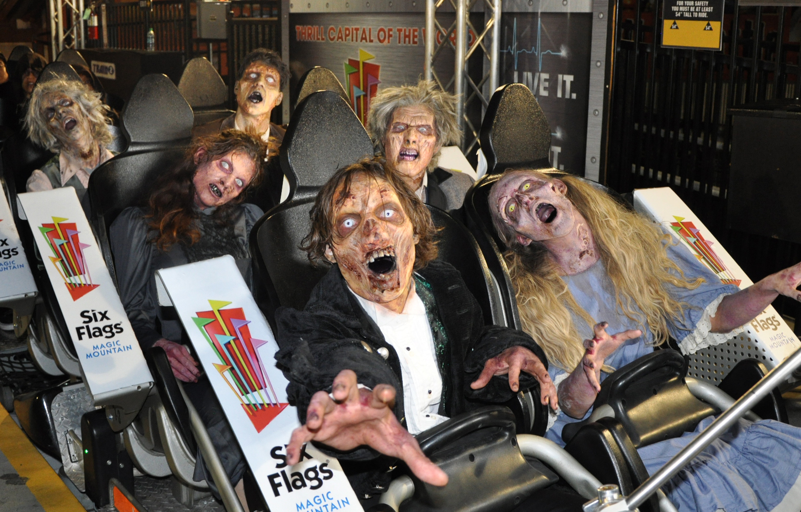 six flags magic mountain presents biggest and scariest halloween event ever business wire