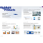 New English language version of the adhesive labelstocks catalogue now available for viewing and download (Graphic: Business Wire)
