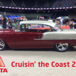 Axalta Coating Systems will be at Cruisin' the Coast automotive festival with Rudy Laris, Jr.'s 1955 Chevrolet Bel Air built by Goldman Customs and painted with Axalta's ChromaPremier Pro paint and Hut Hues custom finishes. (Photo: Axalta)