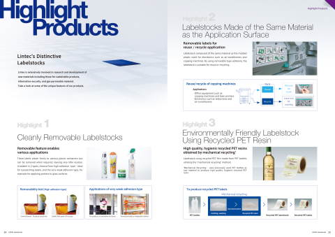 New English language version of the adhesive labelstocks catalogue now available for viewing and dow ...