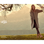 Rosie Huntington-Whiteley in UGG Classic II in Chestnut (Photo: Business Wire)