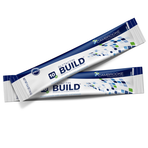 At only 54 calories per 10 grams of Glytactin protein, Glytactin BUILD is the lowest calorie GMP-based formula available. (Photo: Business Wire)