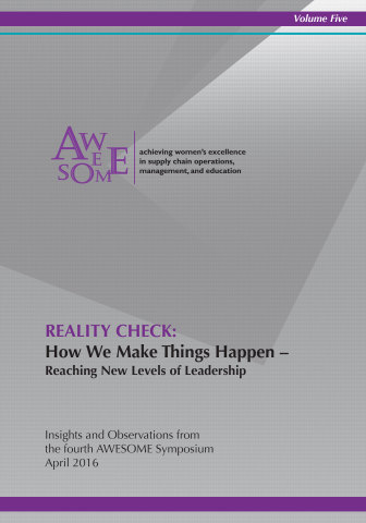 "The newest REALITY CHECK, Volume 5: ""How We Make Things Happen — Reaching New Levels of Leadership"" (Photo: Business Wire)"