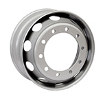 Accuride's new lightweight steel wheel from Gianetti Ruote for European commercial vehicle OEM and aftermarket applications. (Photo: Business Wire)