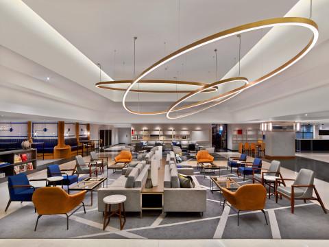 The Hub at Le Méridien Etoile – Le Méridien reinterpretation of traditional lobby. (Photo: Business Wire)