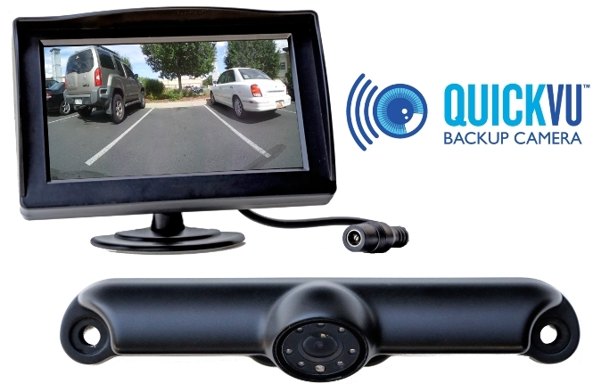 """QuickVu Digital camera and dedicated 4.3"""" monitor. (Photo: Business Wire)"""