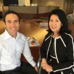 From left to right: Joe Cohen, Chief Communications Officer and Michiko Kurahashi, Chief Marketing Officer (Photo: Business Wire)