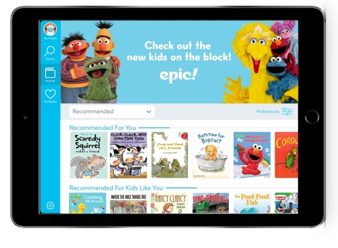 Sesame Street books and videos are now available on Epic! (Photo: Epic!)