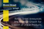 Rimini Street annuncia una crescita del fatturato annua del 39% per l'assistenza per i prodotti Oracle