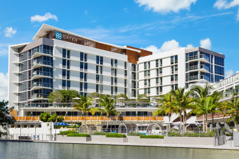 Hilton Welcomes The Gates Hotel South Beach - A DoubleTree by Hilton (Photo: Business Wire)