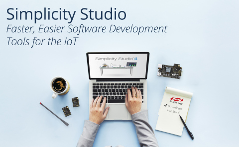Silicon Labs' Simplicity Studio development platform provides faster, easier software tools for the  ...